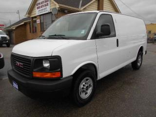 Used 2014 GMC Savana 2500 CARGO  4.8L V8 Heavy Duty 3/4Ton Divider 136,000Km for sale in Etobicoke, ON