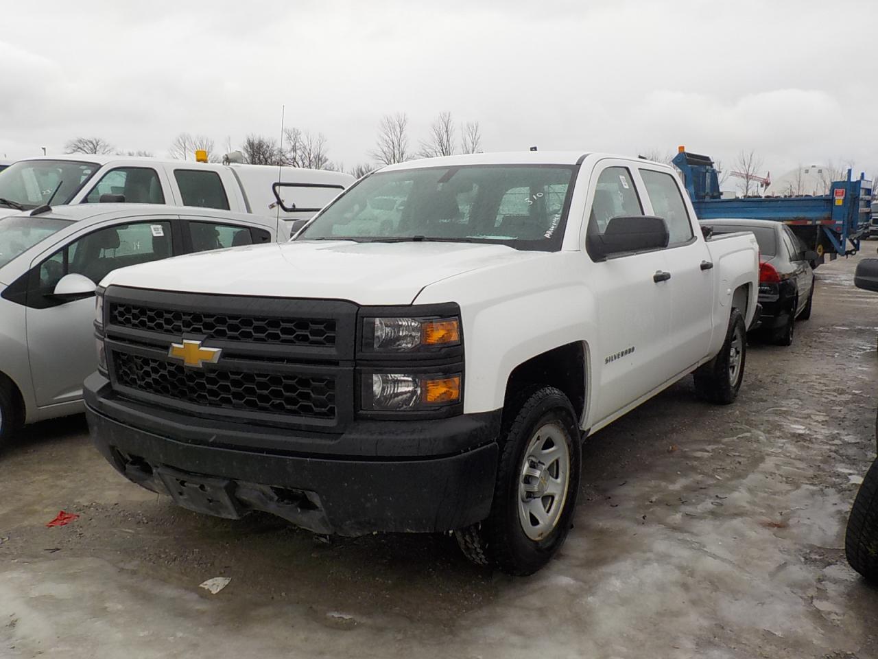 Photo of White 2014 Chevrolet Silverado