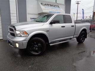 Used 2017 Dodge Ram 1500 SLT Luxury, Nav, Leather, Sunroof, 2 Inch Lift for sale in Langley, BC
