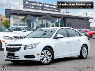 Used 2014 Chevrolet Cruze LT AUTO |CAMERA|PHONE|WARRANTY|REMO.STARTER for sale in Scarborough, ON