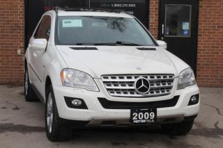Used 2009 Mercedes-Benz ML 320 BlueTEC 4MATIC *NAVI, CERTIFIED, MINT* for sale in Scarborough, ON
