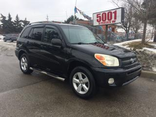Used 2005 Toyota RAV4 AUTO,4CYL, for sale in North York, ON