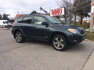 Used 2008 Toyota RAV4 SPORT,AWD,SAFETY+3YEARS WARRANTY INCLUDED for sale in North York, ON