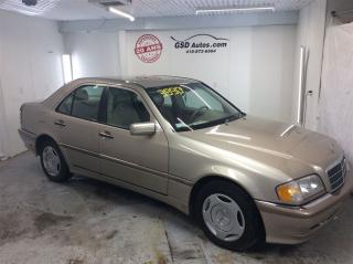Used 2000 Mercedes-Benz C-Class Classic for sale in L'ancienne-lorette, QC