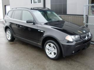 Used 2006 BMW X3 4x4 3,0i FULL + GARANTIE 3 ANS incluse for sale in Laval, QC