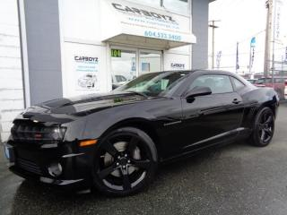 Used 2010 Chevrolet Camaro 2SS, Leather, Sunroof, 426 HP 6.2L V8, Extra Clean for sale in Langley, BC
