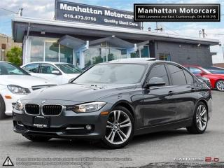 Used 2014 BMW 3 Series 320i SPORTLINE |NAV|ROOF|PHONE|6SPEED|NOACCIDENT for sale in Scarborough, ON