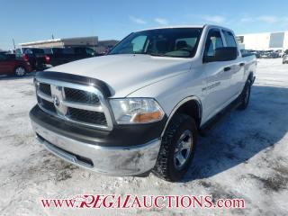 Used 2012 RAM 1500 SXT CREW CAB SWB 4WD 5.7L for sale in Calgary, AB