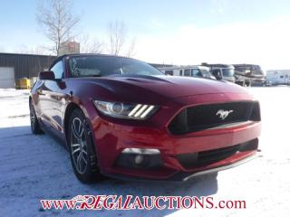 Used 2015 Ford MUSTANG GT PREMIUM 2D CONVERTIBLE RWD 5.0L for sale in Calgary, AB