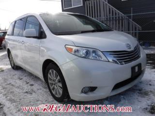 Used 2012 Toyota SIENNA XLE LIMITED 4D WAGON 7 PASS AWD for sale in Calgary, AB