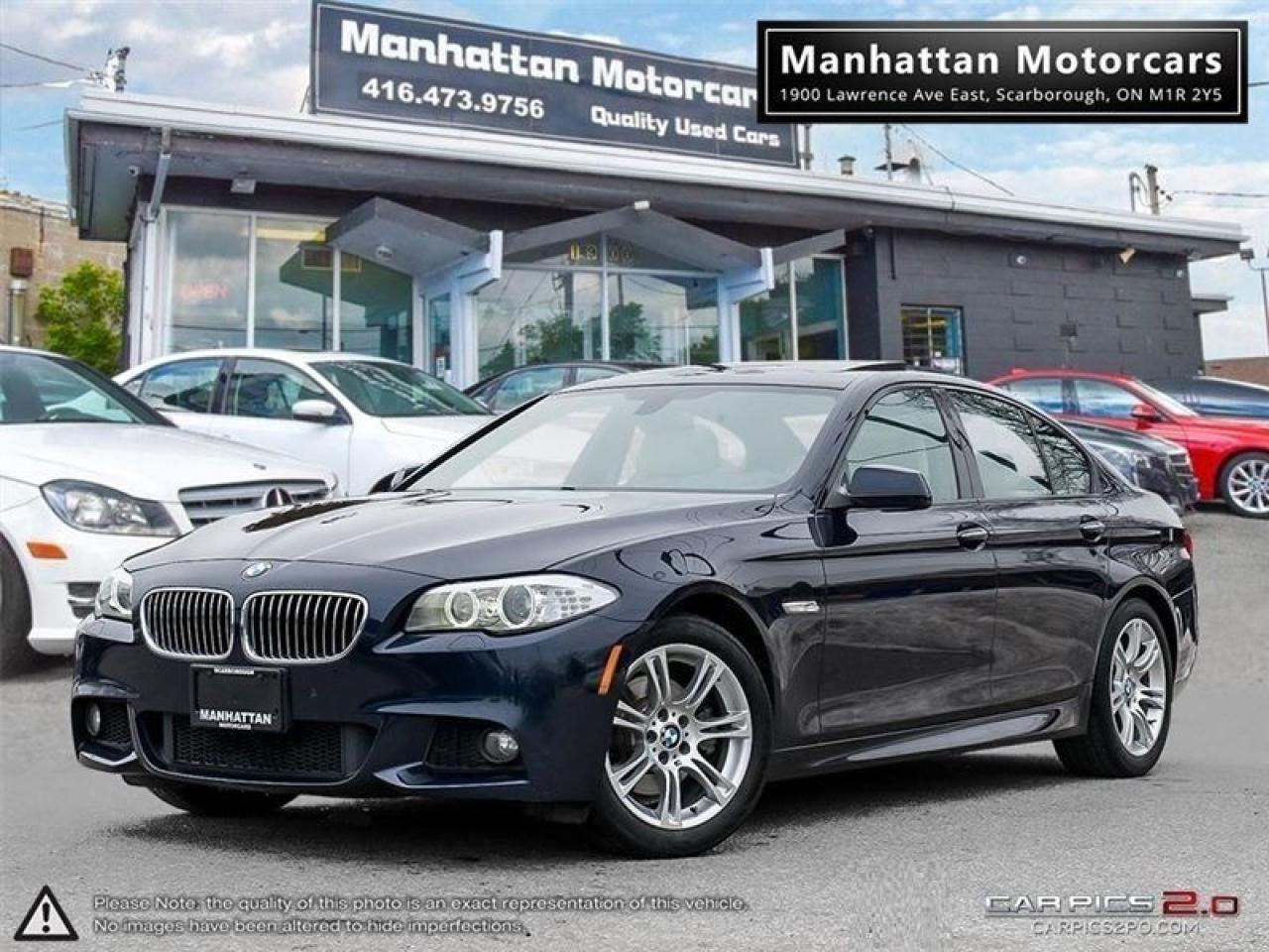 2013 BMW 5 Series 528i X-DRIVE M-SPORT PKG |NAV|360CAMERA|PHONE|61K