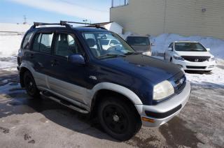 Used 2000 Suzuki Grand Vitara 4DR AWD NEGOCIABLE for sale in Mascouche, QC