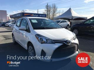 Used 2017 Toyota Yaris Collision Warning System, Bluetooth, Low Kms for sale in Vancouver, BC