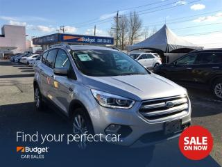 Used 2017 Ford Escape Titanium Edition, All Wheel Drive, Navigation for sale in Vancouver, BC