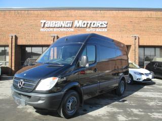 Used 2011 Mercedes-Benz Sprinter 3500 | HIGH ROOF | BACK UP CAMERA | INTERIOR SHELF'S | for sale in Mississauga, ON