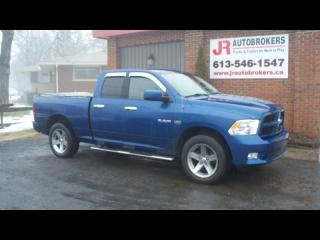Used 2009 Dodge Ram 1500 HEMI Sport 4X4 Quad Cab - Sharp Truck for sale in Elginburg, ON