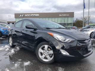 Used 2013 Hyundai Elantra GLS-Heated Seats/Sunroof/Bluetooth for sale in Port Coquitlam, BC