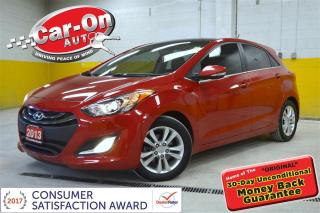 Used 2013 Hyundai Elantra GT SE TECH LEATHER NAV PANO ROOF HTD SEATS REAR CAM for sale in Ottawa, ON