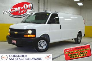 Used 2017 Chevrolet Express 2500 1WT 155 WB A/C POWER GROUP for sale in Ottawa, ON