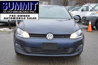 Used 2015 Volkswagen Golf   DIESEL   LEATHER 2.0 TDI Comfortline for sale in Richmond Hill, ON