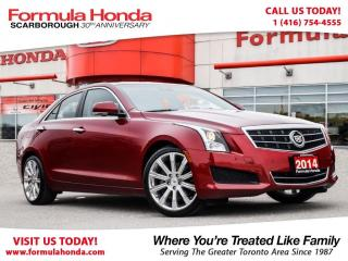 Used 2014 Cadillac ATS ONE OWNER | ACCIDENT FREE | PRISTINE CONDITION! for sale in Scarborough, ON
