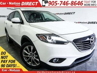 Used 2014 Mazda CX-9 GT| AWD| LEATHER| SUNROOF| NAVI| for sale in Burlington, ON