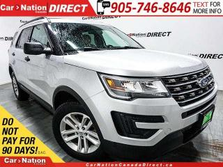 Used 2016 Ford Explorer | 4X4| BACK UP CAMERA| POWER DRIVERS SEAT| for sale in Burlington, ON