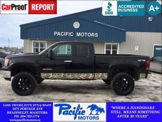 Used 2013 GMC Sierra 1500 SLE for sale in Headingley, MB