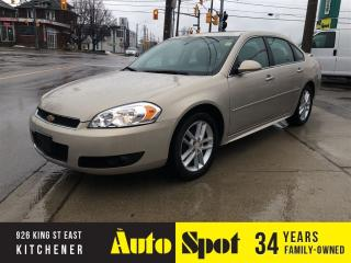 Used 2012 Chevrolet Impala LTZ/LOW, LOW KMS/ MINT CAR/PRICED-A QUICK SALE for sale in Kitchener, ON