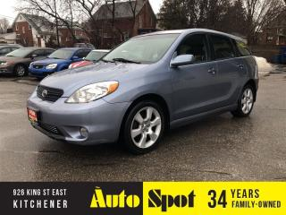 Used 2008 Toyota Matrix XR/RARE/MINT.LOW, LOW KMS! for sale in Kitchener, ON