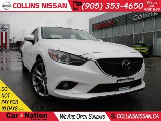 Used 2015 Mazda MAZDA6 GT | NAVI | ALLOYS | LOW KM'S | SUNROOF | for sale in St Catharines, ON