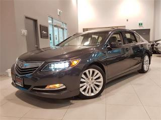 Used 2014 Acura RLX ELITE PACKAGE P-AWS **NAVIGATION-CAMERA** for sale in York, ON