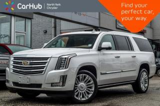 Used 2017 Cadillac Escalade ESV PLATINUM for sale in Thornhill, ON