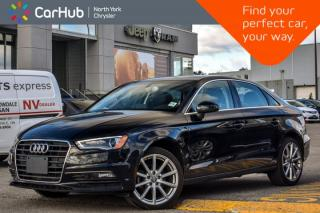 Used 2015 Audi A3 TDI Progressiv |Sunroof|Leather|HeatFrntSeats|PkAsst.|Bluetooth|18
