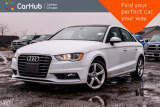 Used 2015 Audi A3 TDI Komfort|Diesel|Pano Sunroof|Bluetooth|Heated Front Seats|Leather|17