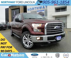 Used 2016 Ford F-150 XLT | NAV | REAR CAMERA | HEATED SEATS | for sale in Brantford, ON