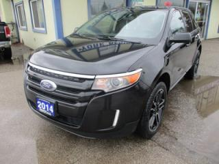 Used 2014 Ford Edge LOADED SEL MODEL 5 PASSENGER 3.5L - V6.. AWD.. LEATHER.. HEATED SEATS.. NAVIGATION.. BACK-UP CAMERA.. DUAL SUNROOF.. for sale in Bradford, ON