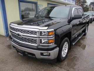 Used 2014 Chevrolet Silverado 1500 LOADED 2-LT EDITION 6 PASSENGER 5.3L - V8.. 4X4.. CREW.. SHORTY.. BLUETOOTH SYSTEM.. BACK-UP CAMERA.. TOUCH SCREEN DISPLAY.. for sale in Bradford, ON