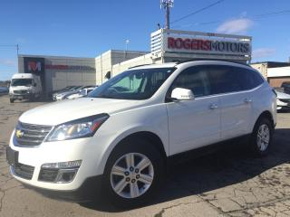 Used 2014 Chevrolet Traverse 2LT AWD - NAVI - 7 PASS - LEATHER - REVERSE CAM for sale in Oakville, ON