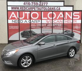 Used 2012 Hyundai Sonata Limited LIMITED-0% DOWN ALL CREDIT ACCEPTED for sale in Scarborough, ON