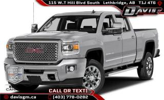 Used 2015 GMC Sierra 2500 HD Denali for sale in Lethbridge, AB