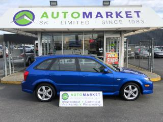 Used 2003 Mazda Protege5 SUNROOF! IN HOUSE FINANCE @ 10% for sale in Langley, BC