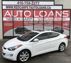 Used 2013 Hyundai Elantra GLS-ALL CREDIT ACCEPTED for sale in Scarborough, ON