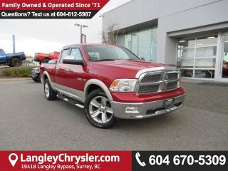 Used 2010 Dodge Ram 1500 Laramie <B>*LEATHER, NAVIGATION, DUAL ZONE*<B> for sale in Surrey, BC