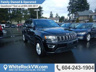 Used 2017 Jeep Grand Cherokee Laredo BC Driven, No Accidents & Emergency Communication System for sale in Surrey, BC