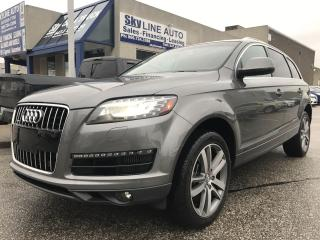 Used 2010 Audi Q7 3.0 TDI Premium TDI|NAV|DVD ENTERTAINMENT PKG|7 PASSENGER|CERTIFIED for sale in Concord, ON