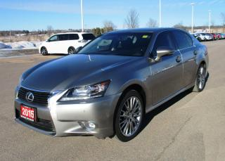 Used 2015 Lexus GS 350 for sale in Renfrew, ON