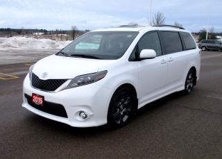Used 2015 Toyota Sienna SE Technology Package for sale in Renfrew, ON