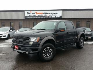 Used 2012 Ford F-150 SVT Raptor Crew Cab 4x4 for sale in Gloucester, ON