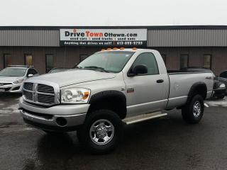Used 2007 Dodge Ram 2500 SLT 4X4 REGULAR CAB **5.9L CUMMINS DIESEL** for sale in Gloucester, ON